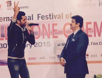 Jashan Singh Performed in A Master Class at Marwah Studios