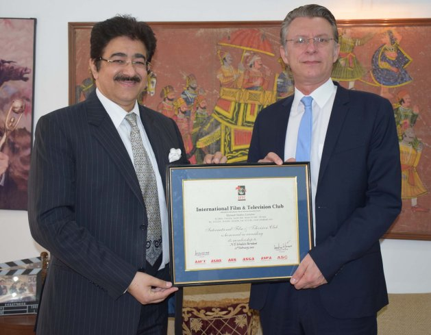 Ambassador of Austria Visits ICMEI International Head Quarters