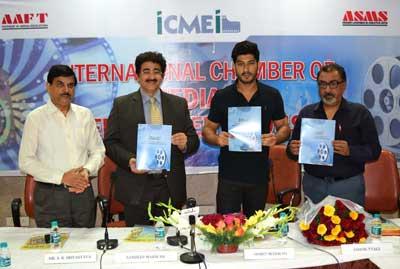 ICMEI Brochure Released by Mohit Marwah