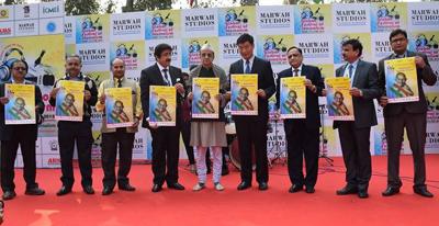 Respect to Mahatma Gandhi at 3rd Global Festival of Journalism