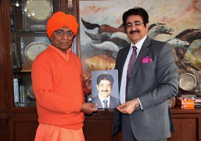 Sandeep Marwah Acts Like Lala Lajpat Rai-Swami Agnivesh