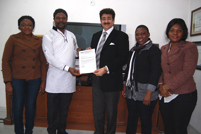 AAFT Scholarship to Cameroon Student Announced by ICMEI