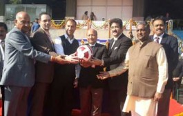 Maitri Cup Football Tournament Inaugurated at Delhi