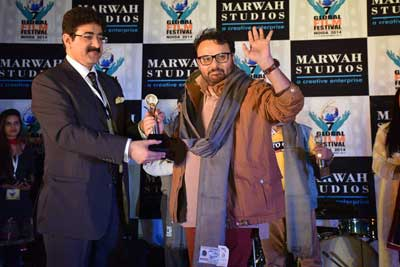 Excellence In Cinema Award for Anil Sharma at 7th GFFN
