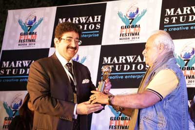 Life Time Achievement Award for Ramesh Meer at 7th GFFN