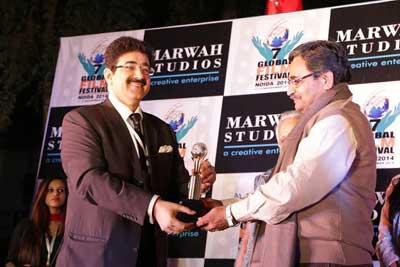 Excellence In Education Award for Ashok Gadiya at 7th GFFN