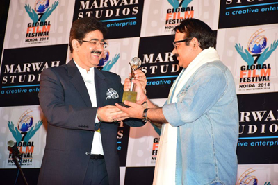 Neeraj Pathak Honored Excellence in Cinema at 7th GFFN