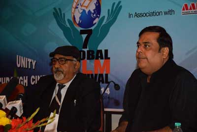 Workshop on Film Production by Rahul Mittra at 7th GFFN