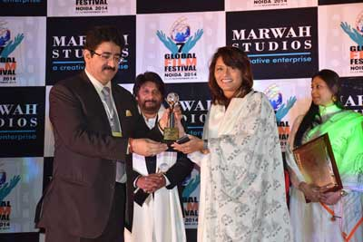 Pallavi Joshi Honored With Excellence in Cinema Award at 7th GFFN