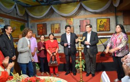 Exhibition of Paintings by Sandhya Singh Inaugurated at 7th GFFN