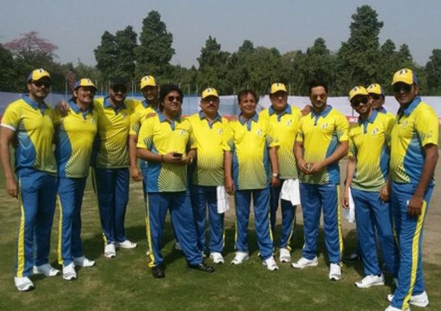 Cricket Match at New Delhi