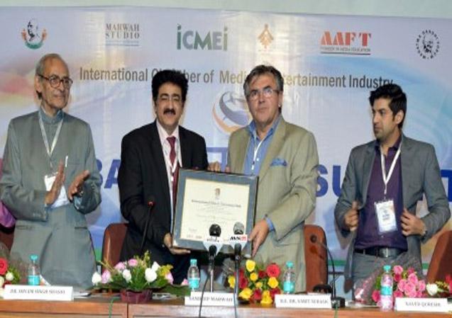 Sandeep Marwah Nominated World Ambassador of Peace