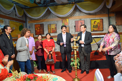 Marwah Studios Hosted Exhibition of Paintings by Various Artist