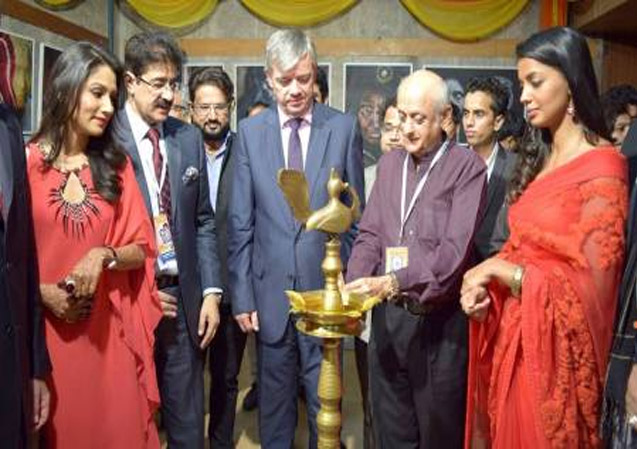 Exhibition of Kapil Kapoor Inaugurated at 8th GFFN