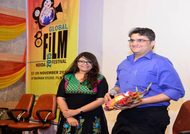 Workshop on Film Direction by Manish Gupta at 8th GFFN
