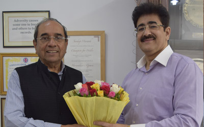 Sandeep Marwah Invited By Indian Council For International Cooperation