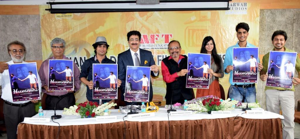 Music Video Released By Sandeep Marwah at AAFT