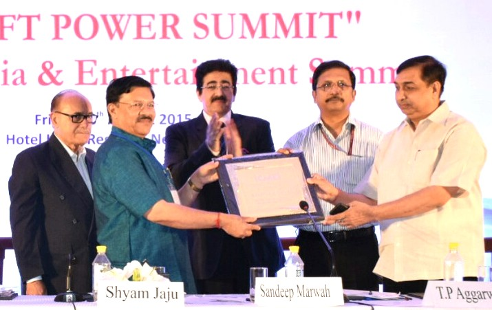 ICMEI Honored KISAN Channel as Best Initiative at Media Summit