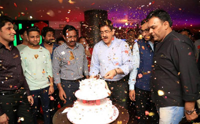 Sandeep Marwah Inaugurated Lounge at Delhi