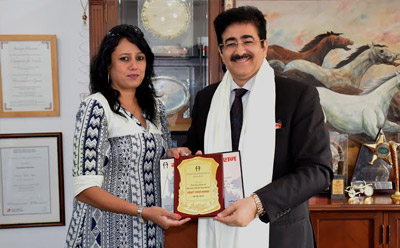 Great India Award For Sandeep Marwah