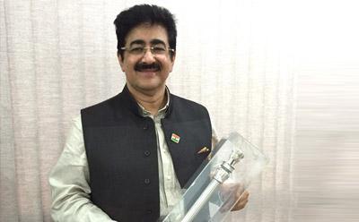 Pride Of Nation Award For Sandeep Marwah