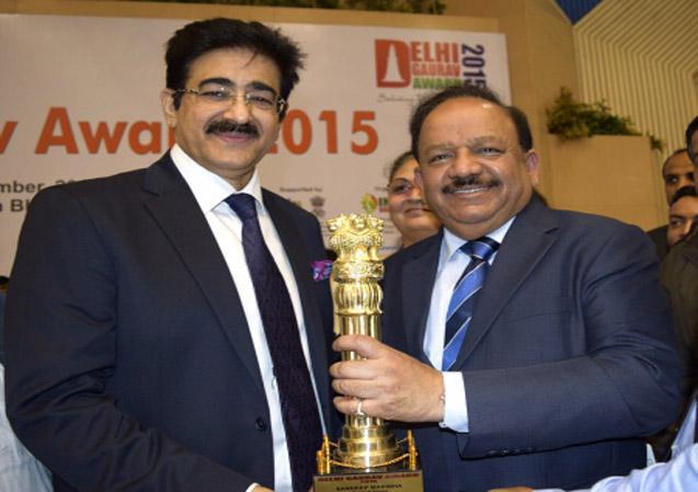 Delhi Gaurav Award For Sandeep Marwah