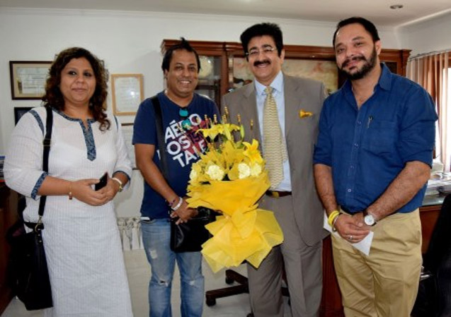 Sandeep Marwah On The Board Of Miss India
