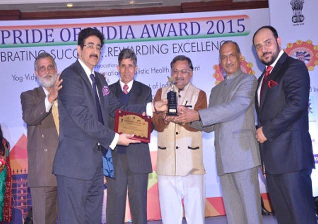 Pride of India Award to Sandeep Marwah