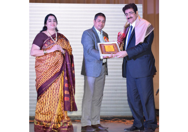 Sandeep Marwah Honored by Sparsh