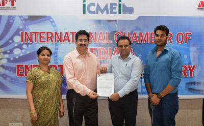ICMEI Join Hands With Animation Festival of IIACFF