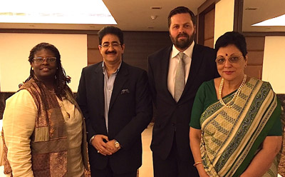 Sandeep Marwah Appreciated at IACC Meet at Varanasi