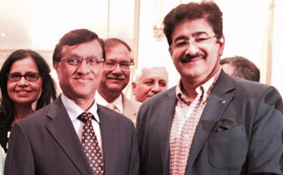 Sandeep Marwah Special Invitee at Consulate General of India