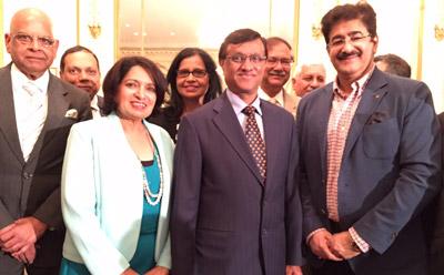 Sandeep Marwah Announced Association With SARF