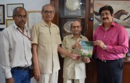 Book on Cow Protection Released at Marwah Studio