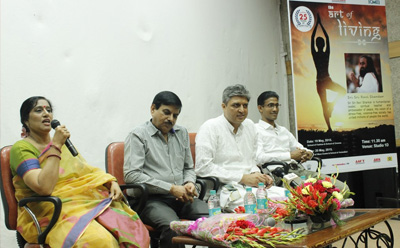 Two Days Workshop On Art of Living at Marwah Studios