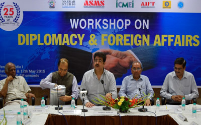 Powerful Workshop on Diplomacy And Foreign Affairs at ICMEI