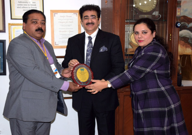 Sandeep Marwah Honored by Human Rights Council