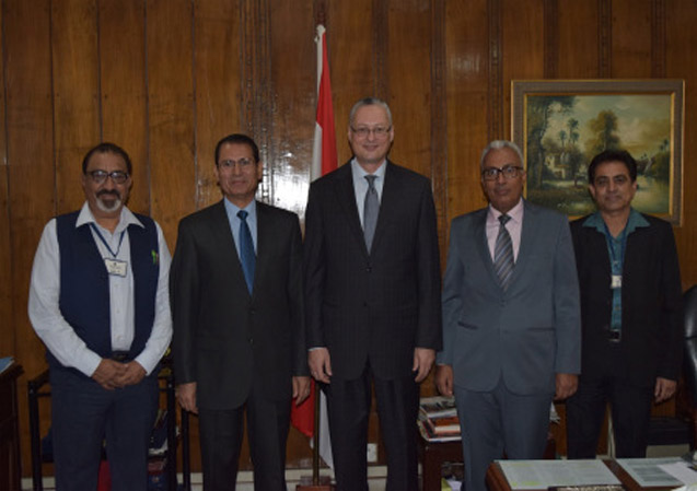 ICMEI Visits Embassy of Egypt