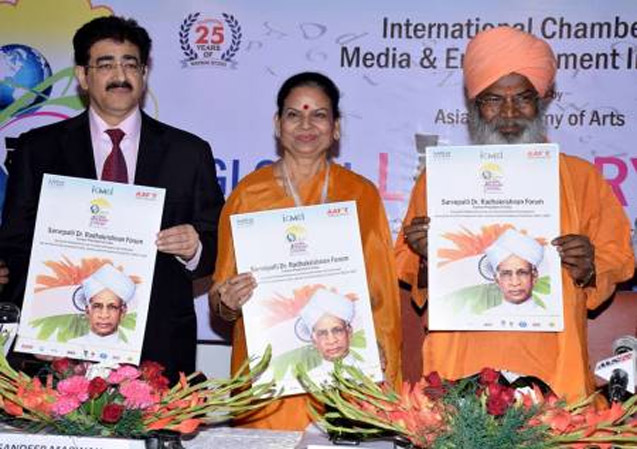 Dr Radhakrishnan Forum Launched at First Global Literary Festival