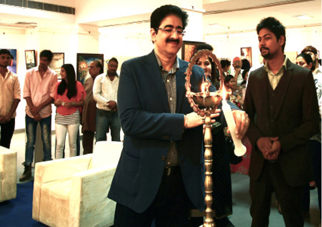 Painting Exhibition Inaugurated by Sandeep Marwah