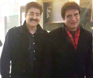 Raj Babbar Attended Special Show of Film Tever