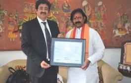 Life Membership of WPDRF Presented to Ramana Rao