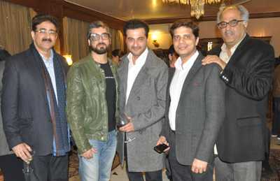 Team of Feature Film Tever Invited by Sandeep Marwah