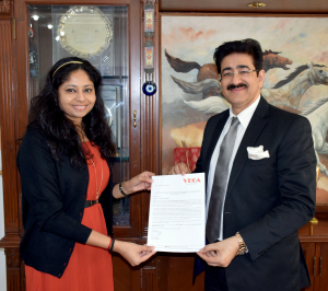 Sandeep Marwah Chief Patron to No More Missing Campaign