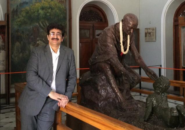 Gandhi Jyanti at Marwah Studio