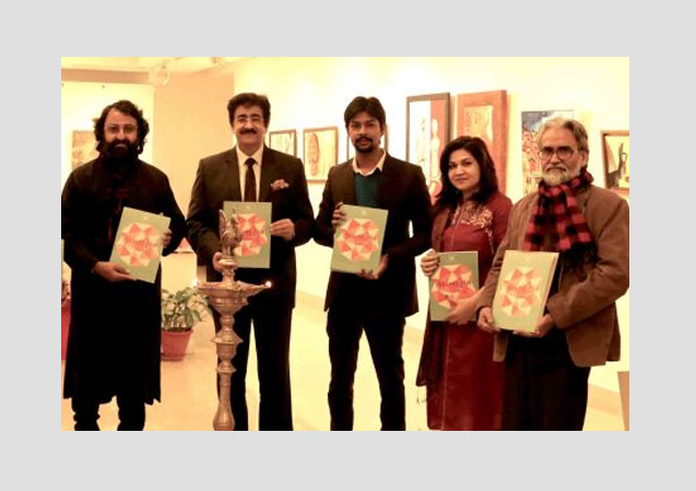 Inauguration of Painting Exhibition ART SIGHT by Sandeep Marwah