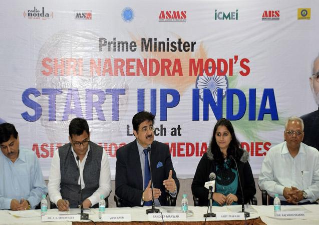 Prime Minister's Start Up India At ASMS