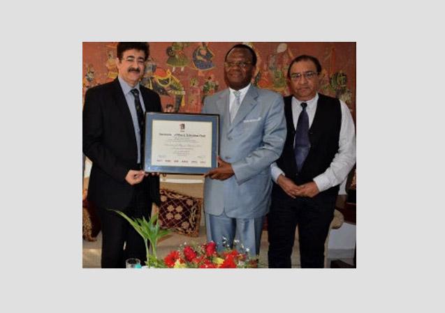 Visit of H.E. Alexandre Cece Loua Ambassador of Guinea to India