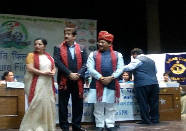 Sandeep Marwah Honored at Delhi University