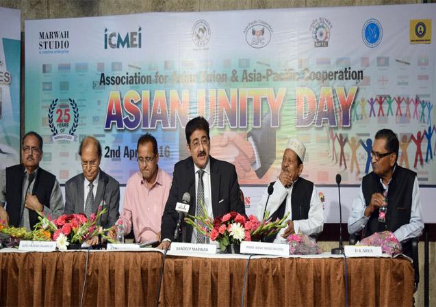 Asian Unity Day Announced by Sandeep Marwah